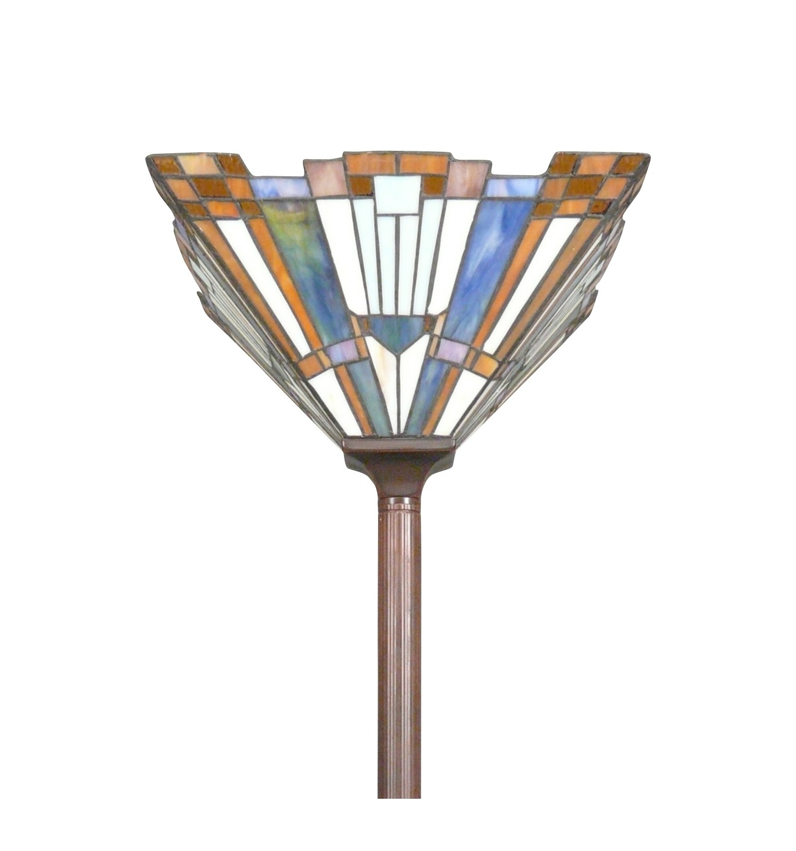 Floor Lamp Tiffany Art Deco New York Lamp And Apply New Art