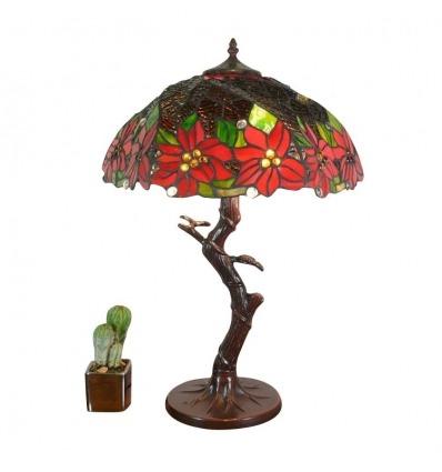 Lampa Tiffany Brocéliande - Tiffany lampor