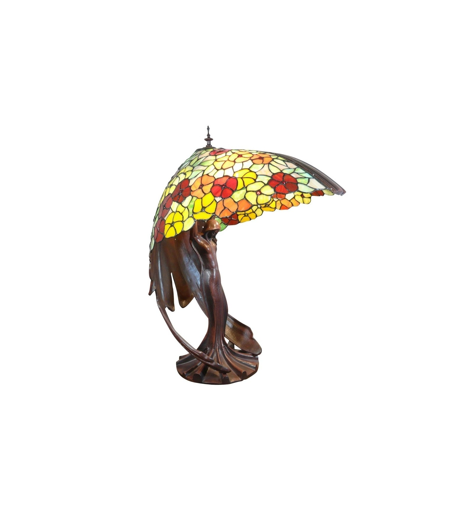 Lamp Flying Lady Tiffany Replica Of The Original Lamp