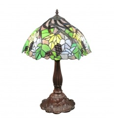 Lampada Tiffany con uva