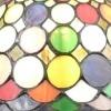 Lampe Tiffany Harlekin - H: 43 cm