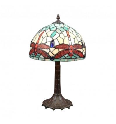 Lampa Tiffany ważki secesji