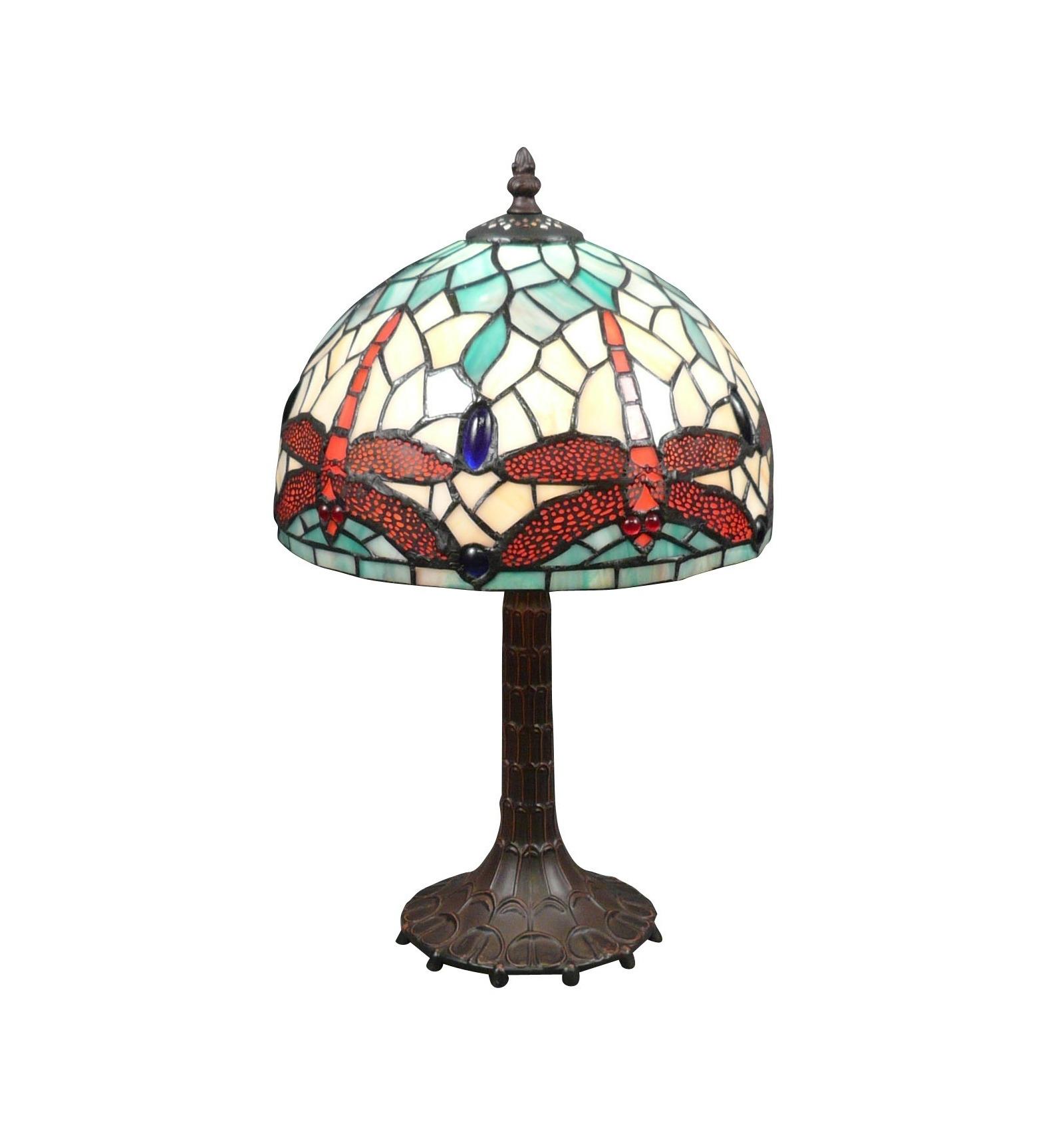 Tiffany art nouveau dragonfly lamp for Art decoration fr
