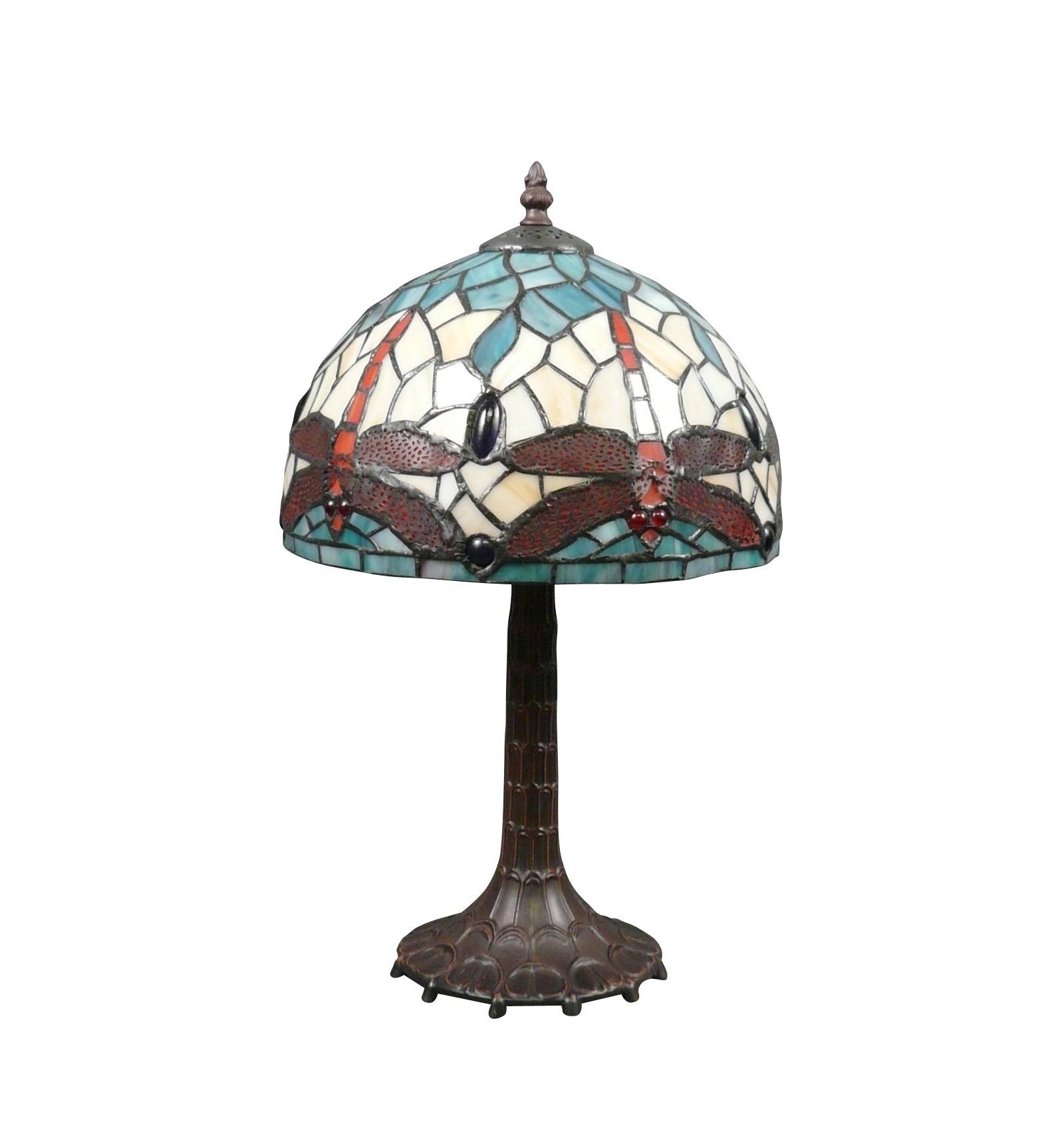 Lamp Tiffany Dragonfly Style Art Nouveau Art Deco Furniture