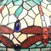 Lámpa Tiffany szitakötők - szecessziós lámpák
