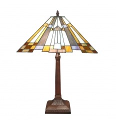 New York art deco tiffany lamp