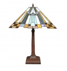 Lampada Tiffany New York in stile art deco