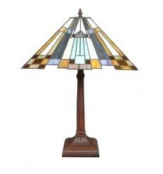 New York art deco tiffany lamp