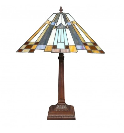 Lampada Tiffany art deco New York
