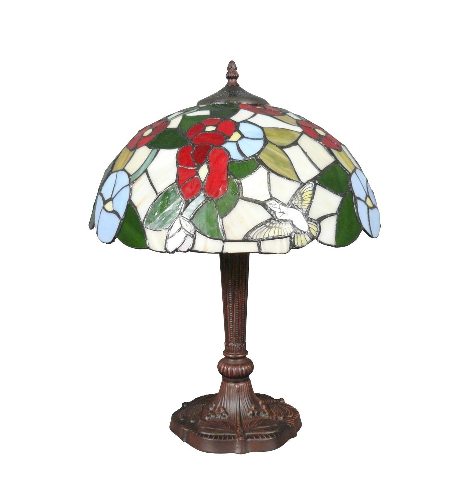 Lampada tiffany uccello illuminazione e mobili art deco for Mobili tiffany