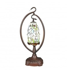 lampe tiffany fleurie art d co. Black Bedroom Furniture Sets. Home Design Ideas