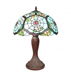 Lampada Tiffany spider web