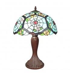 Tiffany spider web lamp