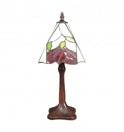Lampe Tiffany au décor floral