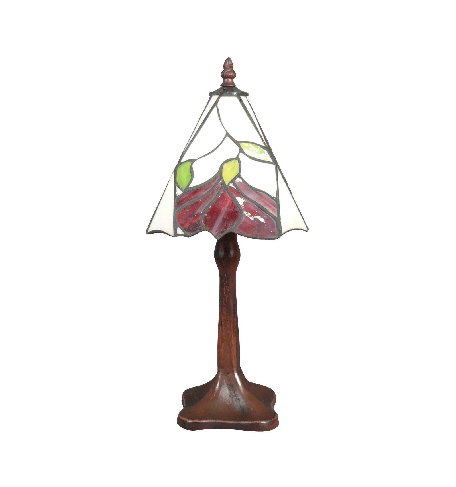 tiffany lamp with floral decoration light. Black Bedroom Furniture Sets. Home Design Ideas