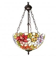 Stile lampadario Tiffany
