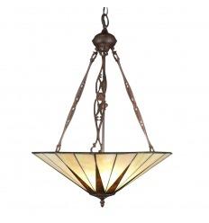 Lámpara Tiffany de techo art deco