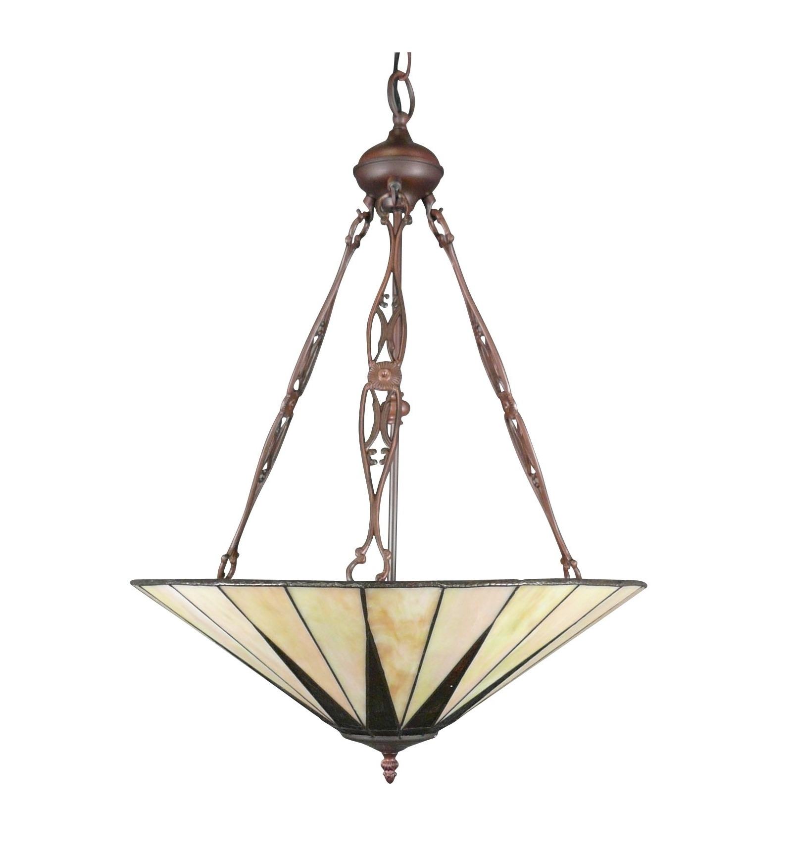 Chandelier style Tiffany art deco - lamp and floor lamp