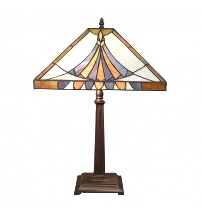 Tiffany Alexandrie Lampe - Art Deco Beleuchtung -
