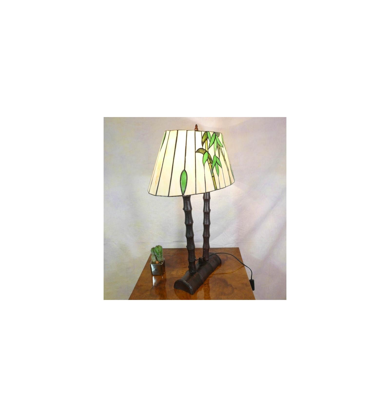 lamp tiffany bamboo fixture and furniture art deco. Black Bedroom Furniture Sets. Home Design Ideas