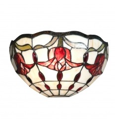 Lámpara de pared Tiffany Amsterdam