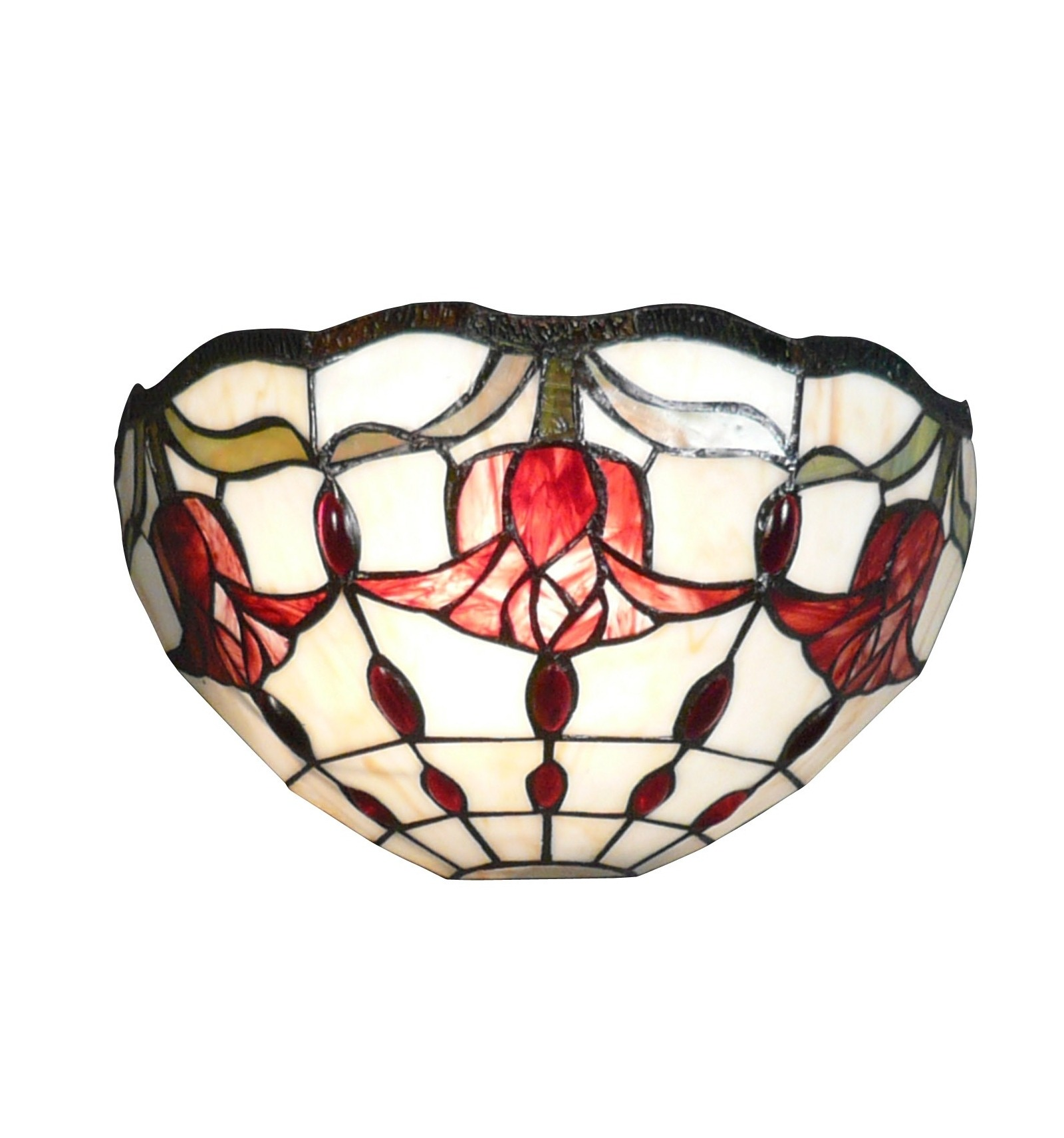 applique tiffany art deco amsterdam lampade tiffany. Black Bedroom Furniture Sets. Home Design Ideas