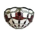 Applique Tiffany Amsterdam - Lampes styles Tiffany
