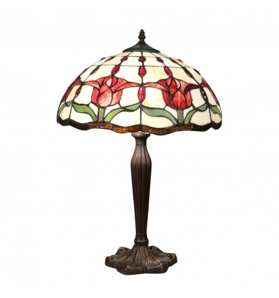 Tiffany lamp with tulips from the Amsterdam series