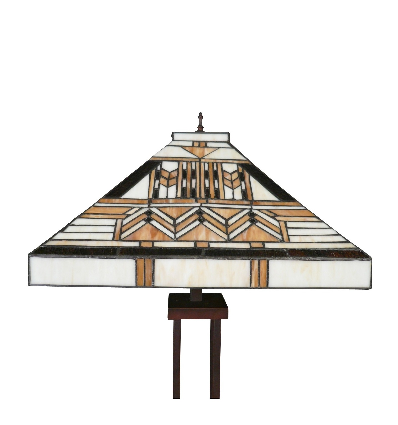 lampadaire tiffany art d co de la s rie boston lampes art deco. Black Bedroom Furniture Sets. Home Design Ideas