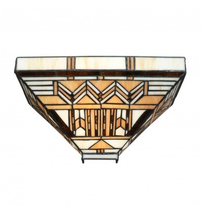 Aplique de pared Boston Art Deco Tiffany