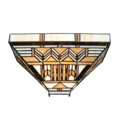 Boston Art Deco Tiffany Wandleuchte