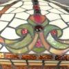 Lampada Tiffany barocco - serie Indiana - Negozio di Lampade Tiffany -