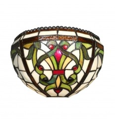 Applique Tiffany Indiana de style Baroque - Magasin de luminaires