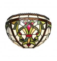 Lámpara de pared de estilo barroco Indiana serie Tiffany