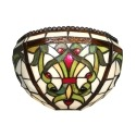 Applique Tiffany barocco Indiana - Lampade Tiffany