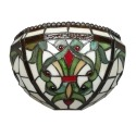 Applique Tiffany Indiana de style Baroque - Magasin de lampes murales Tiffany