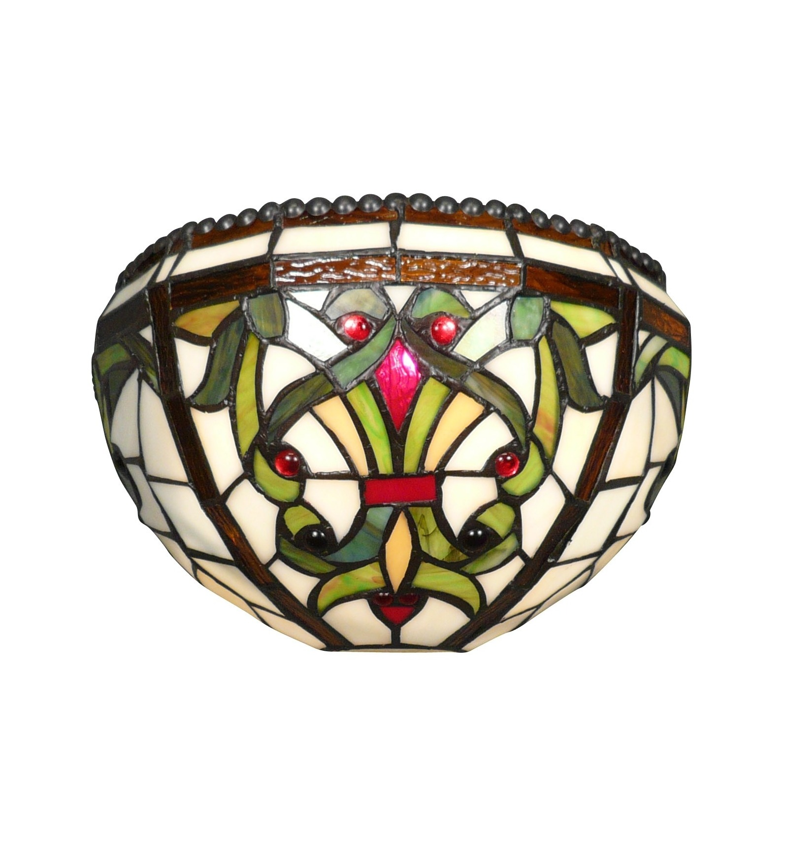wall sconce tiffany baroque lamp. Black Bedroom Furniture Sets. Home Design Ideas