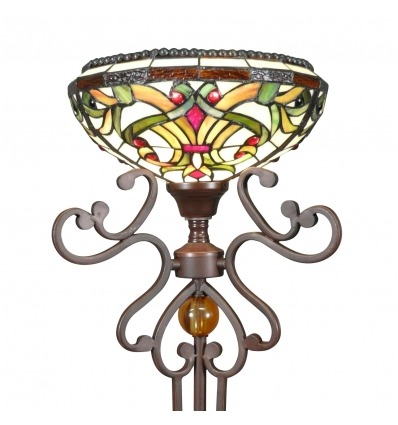 Golv lampa Tiffany - serien Indiana - lampor store -