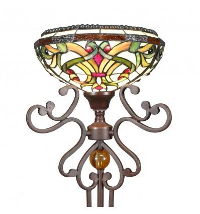 Lampada da terra Tiffany - serie Indiana