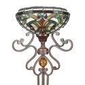 Lampade da terra Tiffany - serie Indiana
