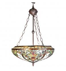 Lámpara de techo Tiffany - serie Indiana