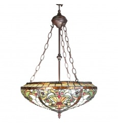 Tiffany Chandelier - Indiana Series