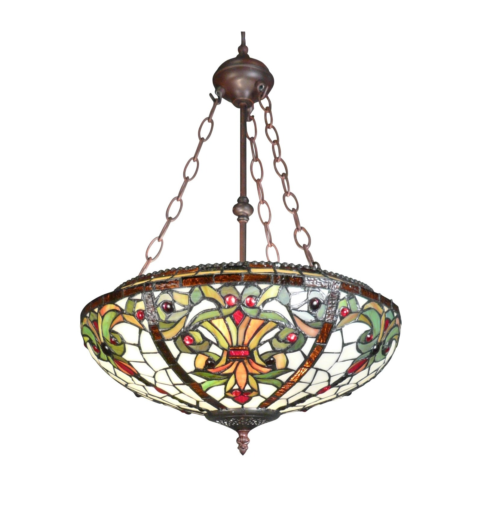 Chandelier Tiffany Series Indiana Lamp And Floor Lamp