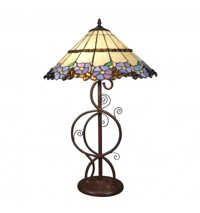 Lampe Tiffany - Magasin de lampes avec un vitrail