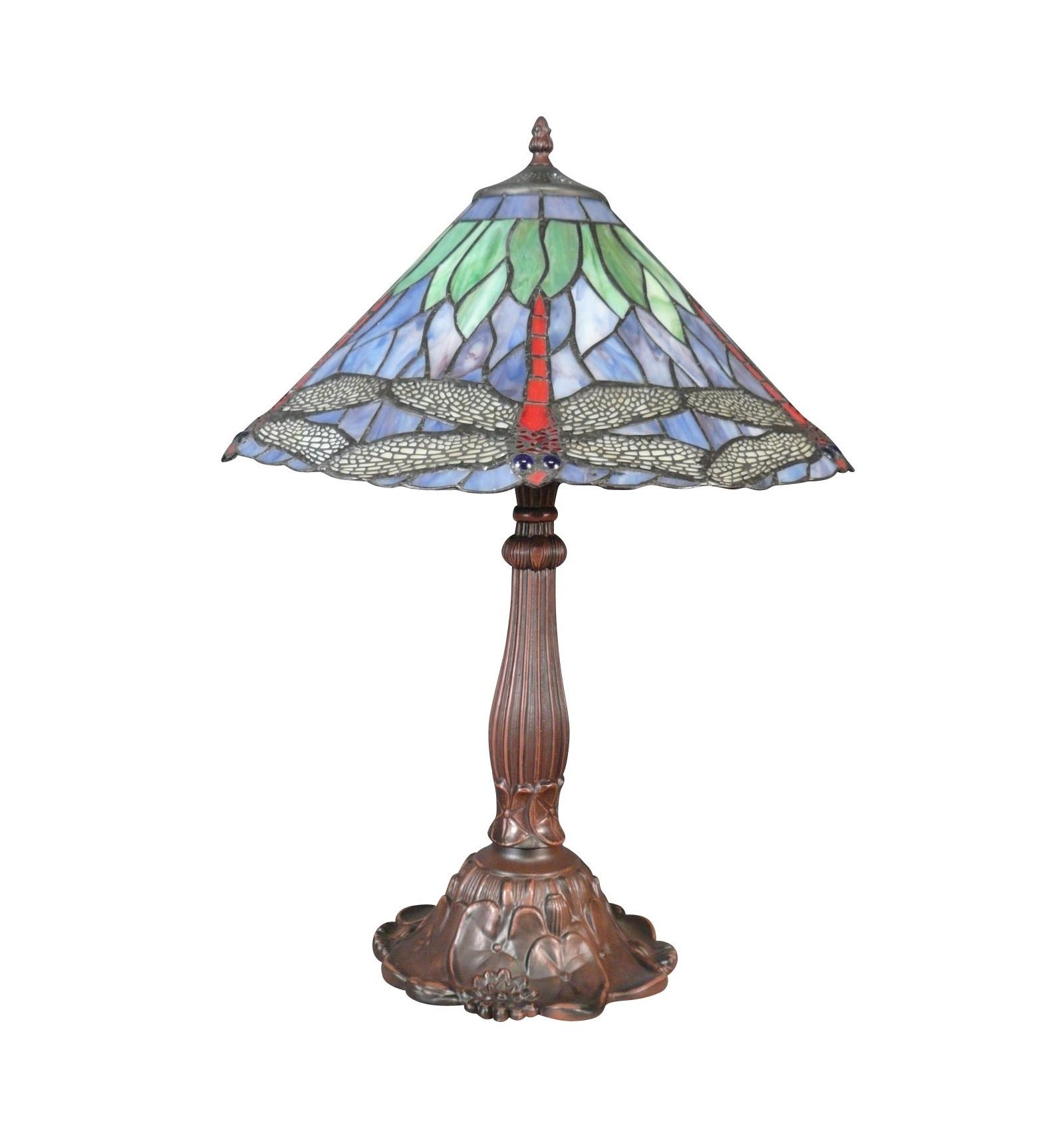tiffany lampe libelle tischleuchte im tiffany. Black Bedroom Furniture Sets. Home Design Ideas