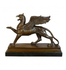 Bronze Sculpture - The Griiffon