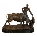 Bronzestatue der Matador - Skulptur und Möbel Art Deco -
