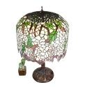 Lampe Tiffany Wisteria réalisée comme Louis Tiffany