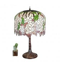 Lamp Met Tiffany Wisteria