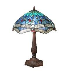Tiffany szitakötő lámpa